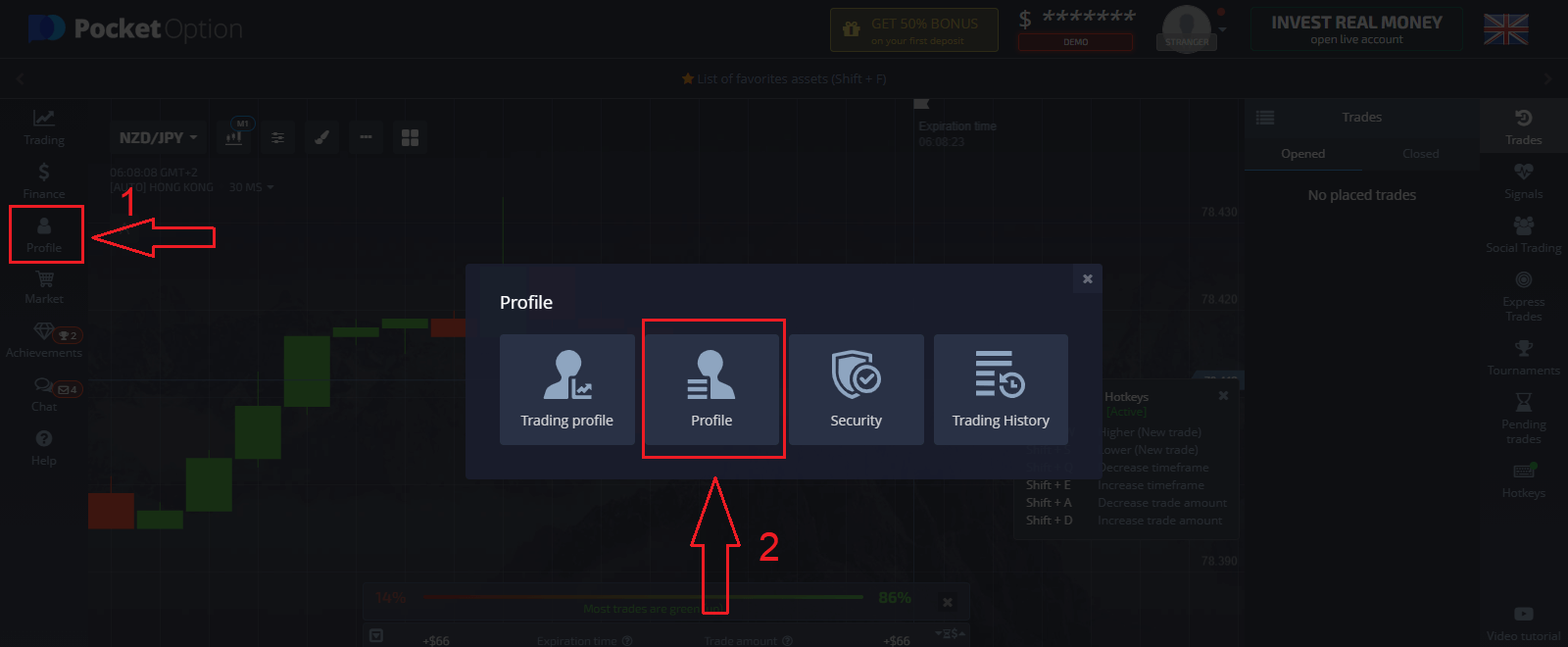 Frequently Asked Questions (FAQ) in Pocket Option