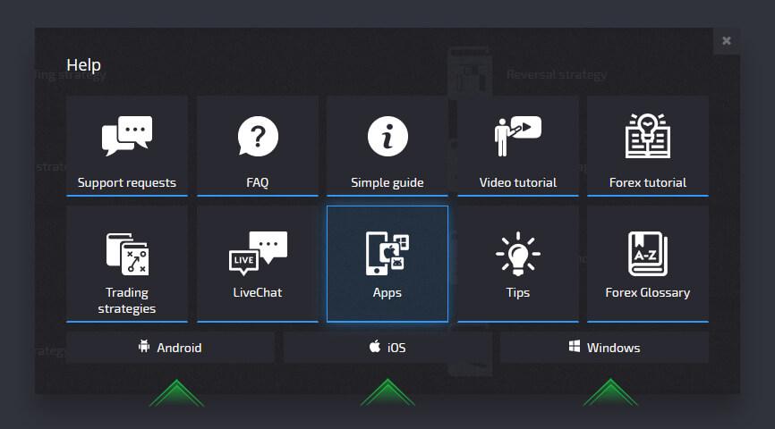 Help Guides at Pocket Option