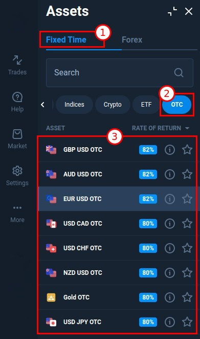 OTC trading at Pocket Option. How to trade during the weekend?